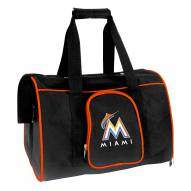 Miami Marlins Premium Pet Carrier Bag
