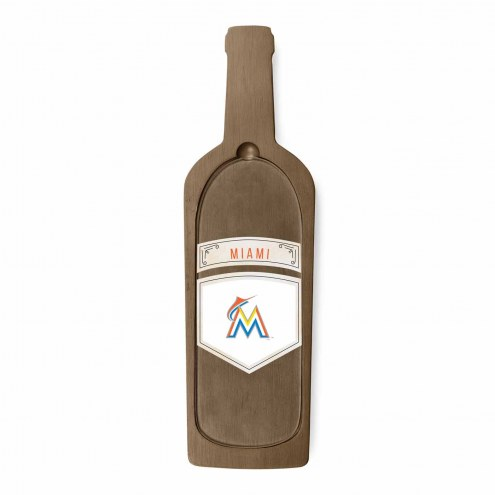 Miami Marlins Reserve Glass Top Serving Tray