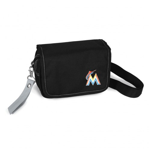 Miami Marlins Ribbon Waist Pack Purse