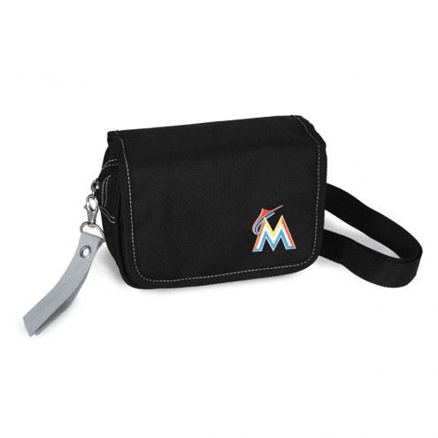 Miami Marlins Ribbon Waist Pack Purse