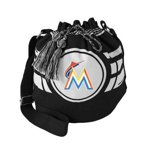 Miami Marlins Ripple Drawstring Bucket Bag