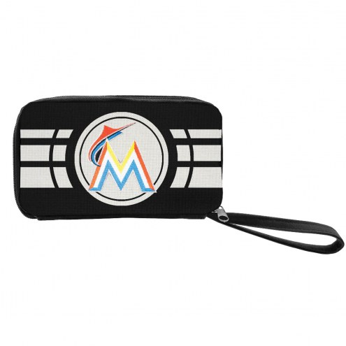 Miami Marlins Ripple Zip Wallet