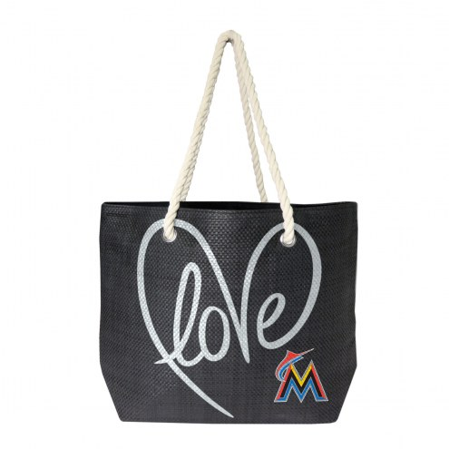 Miami Marlins Rope Tote