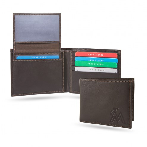 Miami Marlins Sparo Shield Billfold Wallet