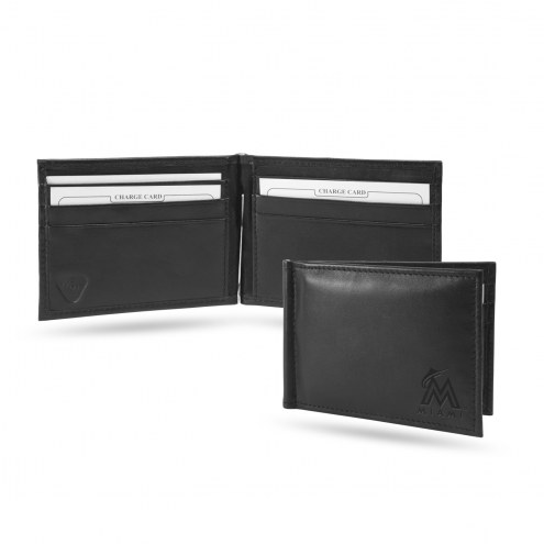 Miami Marlins Sparo Shield Moneyclip Wallet