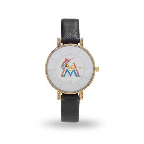 Miami Marlins Sparo Women's Lunar Watch