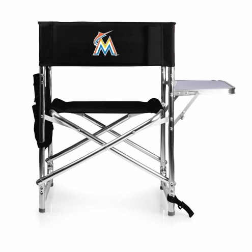 Miami Marlins Sports Folding Chair