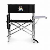 Miami Marlins Sports Folding Chair