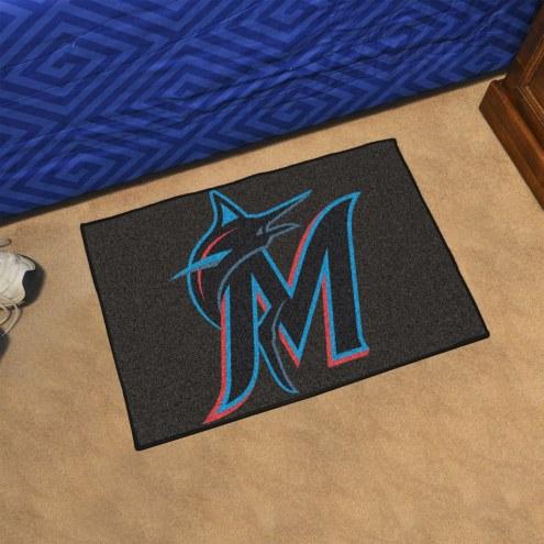 Miami Marlins Starter Rug