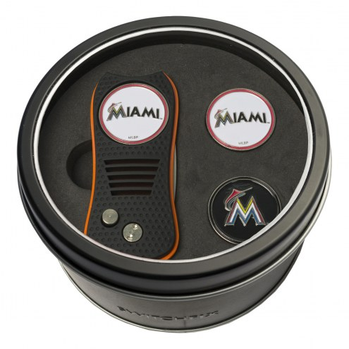 Miami Marlins Switchfix Golf Divot Tool & Ball Markers