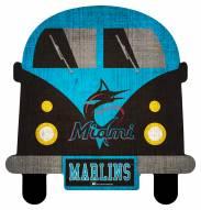 Miami Marlins Team Bus Sign