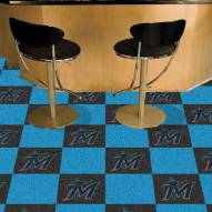 Miami Marlins Team Carpet Tiles