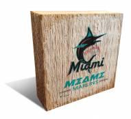 Miami Marlins Team Logo Block