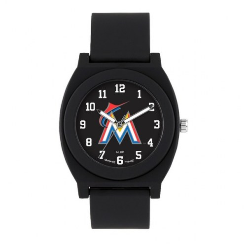 Miami Marlins Unisex Fan Black Watch