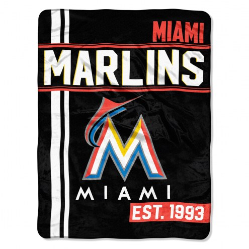 Miami Marlins Walk Off Throw Blanket