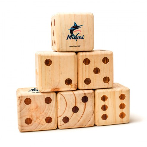 Miami Marlins Yard Dice