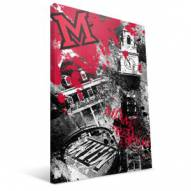 "Miami of Ohio Redhawks 16"" x 24"" Spirit Canvas Print"