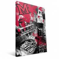 "Miami of Ohio Redhawks 16"" x 24"" Spirit Canvas Print"