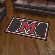 Miami of Ohio Redhawks 3' x 5' Area Rug