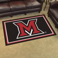 Miami of Ohio Redhawks 4' x 6' Area Rug