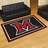Miami of Ohio Redhawks 5' x 8' Area Rug