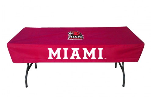 Miami of Ohio RedHawks 6' Table Cover