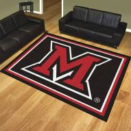 Miami of Ohio Redhawks 8' x 10' Area Rug