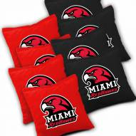 Miami of Ohio Redhawks Cornhole Bags