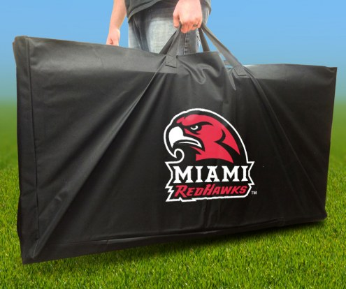 Miami of Ohio Redhawks Cornhole Carry Case