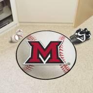 Miami of Ohio RedHawks Baseball Rug