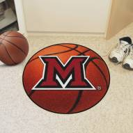 Miami of Ohio RedHawks Basketball Mat
