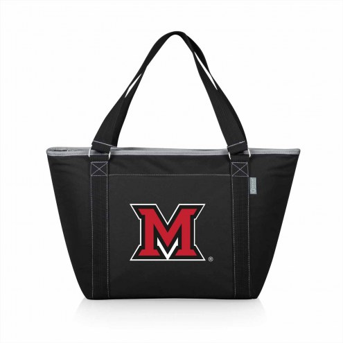 Miami of Ohio RedHawks Black Topanga Cooler Tote