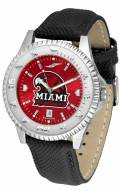 Miami of Ohio Redhawks Competitor AnoChrome Men's Watch