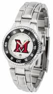 Miami of Ohio Redhawks Competitor Steel Women's Watch