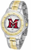Miami of Ohio Redhawks Competitor Two-Tone Men's Watch
