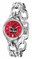 Miami of Ohio Redhawks Eclipse AnoChrome Women's Watch