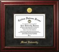 Miami of Ohio RedHawks Executive Diploma Frame