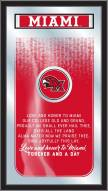Miami of Ohio Redhawks Fight Song Mirror