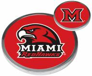 Miami of Ohio Redhawks Flip Coin