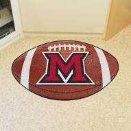 Miami of Ohio RedHawks Football Floor Mat