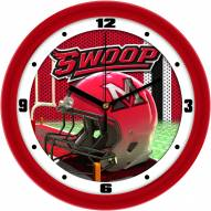Miami of Ohio Redhawks Football Helmet Wall Clock