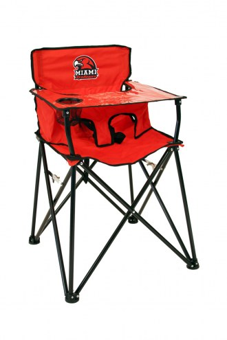 Miami of Ohio RedHawks High Chair