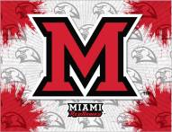 Miami of Ohio Redhawks Logo Canvas Print
