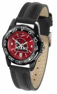 Miami Of Ohio Redhawks Ladies Fantom Bandit AnoChrome Watch