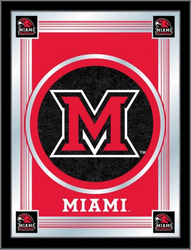 Miami of Ohio RedHawks Logo Mirror