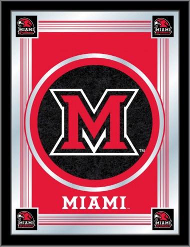 Miami of Ohio RedHawks Logo Mirror