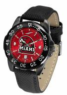Miami Of Ohio Redhawks Men's Fantom Bandit AnoChrome Watch
