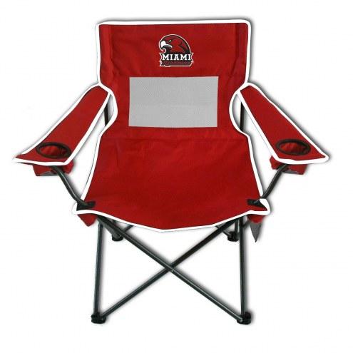 Miami of Ohio RedHawks Monster Mesh Tailgate Chair