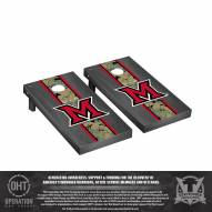 Miami of Ohio RedHawks Operation Hat Trick Onyx Stained Cornhole Game Set