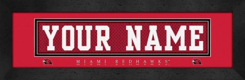 Miami of Ohio RedHawks Personalized Stitched Jersey Print